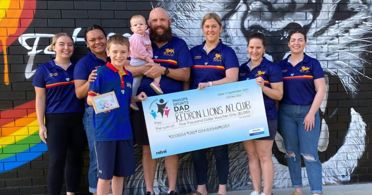 Wavell Heights Dad Is Philips Community Sports Dad Of The Year